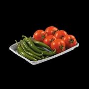 Χάρτινο σκαφάκι φρούτων και λαχανικών