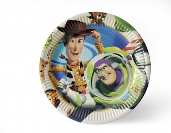 Paper Plates Toy Story