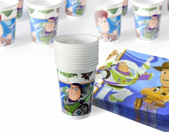 Plastic cups Toy Story