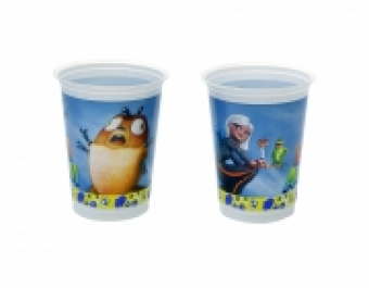 Чаши пластмасови Mostri contro Alieni