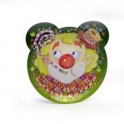 Paper Plates Bibo Circus