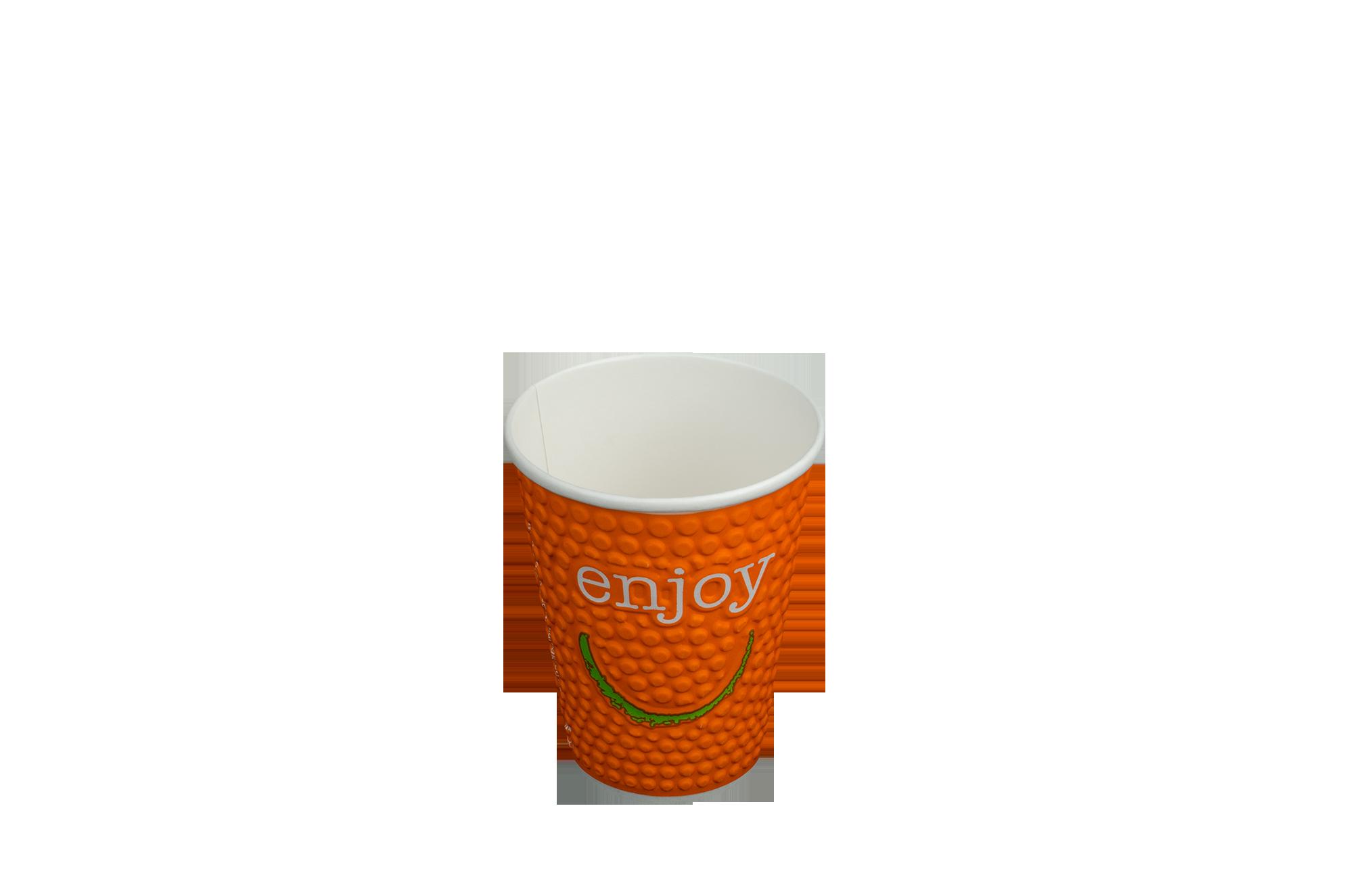 Картонени двуслойни чаши - ENJOY