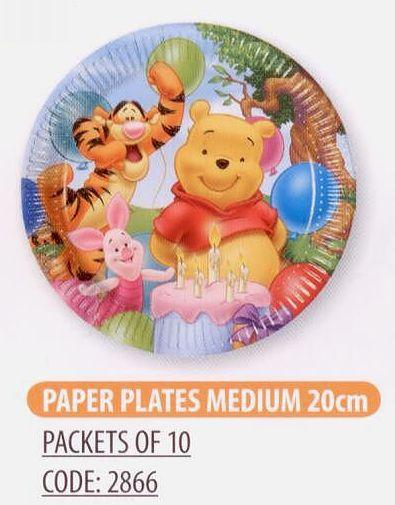 sc 1 st  ????????? ??? & Winnie Alphabet paper plates - 8 pcs.