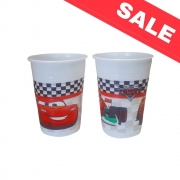 Пластмасови чаши  Cars Formula - 8 бр. -  200 мл