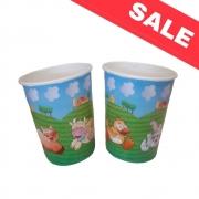 Картонени чаши Bibo Farm 10 бр. - 200 мл