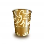 Картонени чаши Gold 10бр. - 200мл