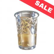 Пластмасови чаши Gold - 10 бр. -  200 мл