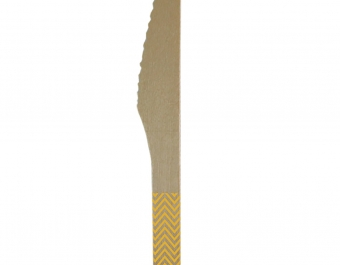wooden knifes - yellow