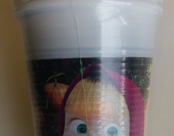 Masha & the Bear plastic cups 8pc.