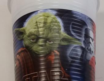 Чаши пластмасови Star Wars - 8 бр.