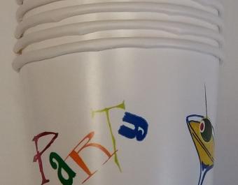 Paper cups  Party 200 ml. - 10 pcs.