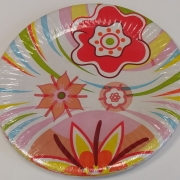 Paper Plates Spring Time - 10 pcs.
